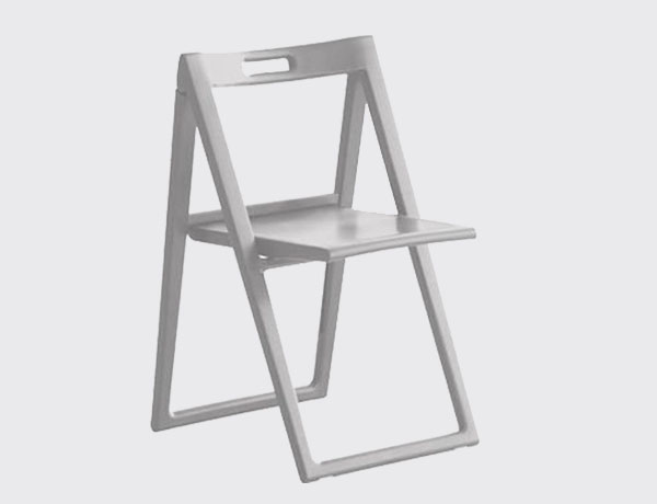Silla plegable Enjoy blanca