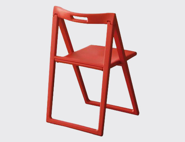 Silla plegable Enjoy Rojo