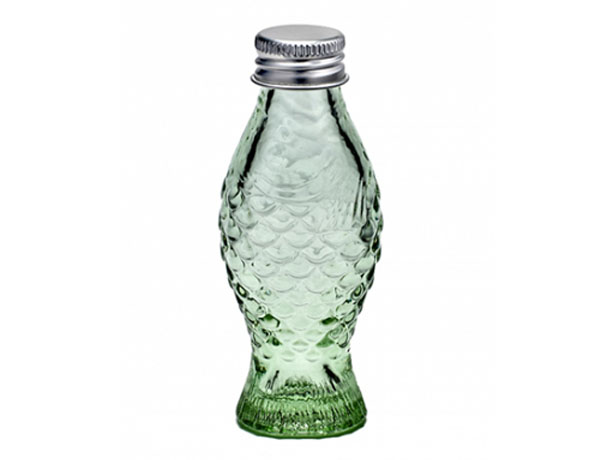 Botella 50 ml verde transparente