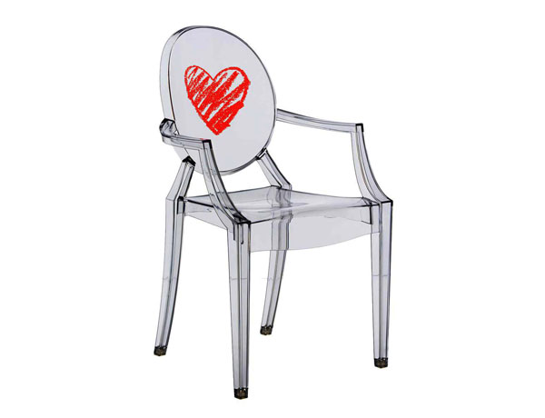 Silla LouLou Ghost Heart