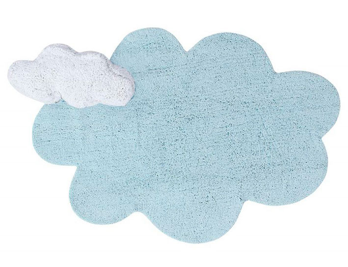 Alfombra Puffy Dream Azul