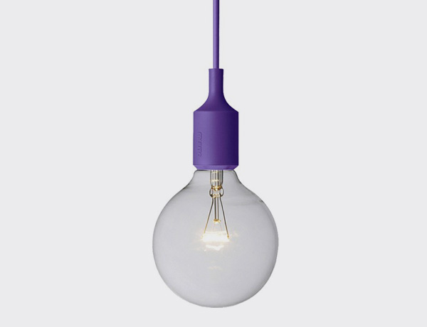 E27 SOCKET LAMP PURPLE