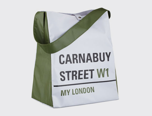 My London bolsa shopping