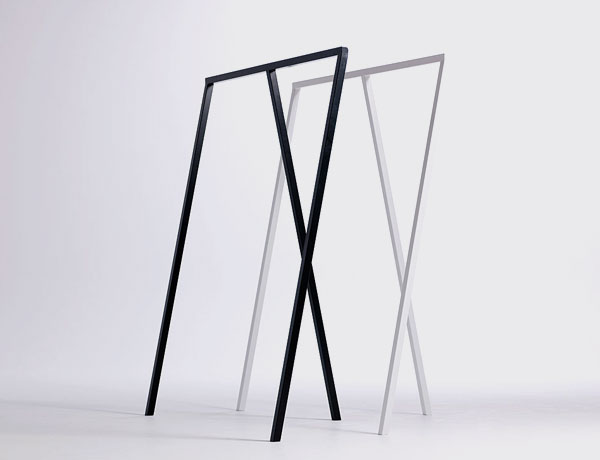Guarda ropa Loop Stand negro