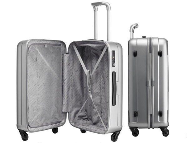Maleta Trolley XL M1 plata