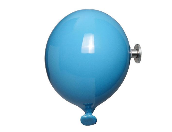Percha mini globo